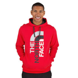 Red North Face Hoodie on Sale
