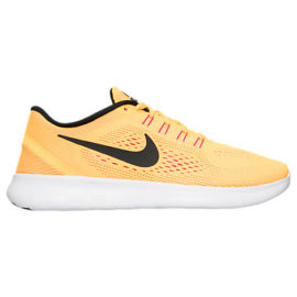 Women's Nike Free RN Running Shoes in Orange