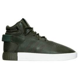 Green adidas Tubular Invader Casual Shoes